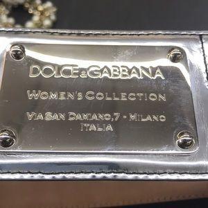 Genuine Dolce & Gabbana Silver Belt